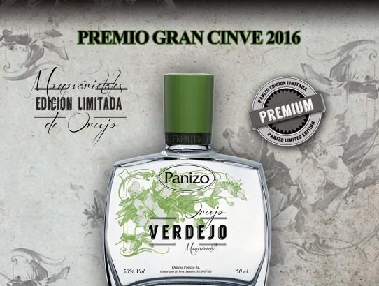 PREMIO GRAN CINVE 2016 VERDEJO